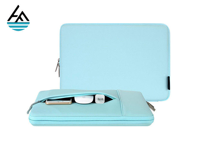 14 Inch Neoprene Laptop Sleeve , 3mm Computer Carrying Case OEM Service