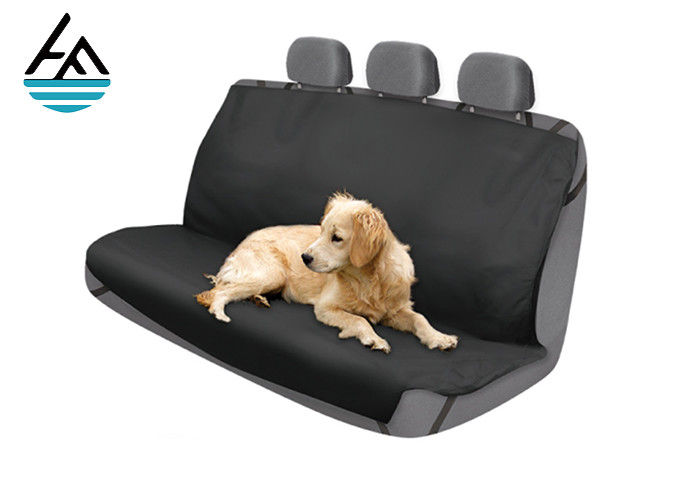 Neoprene Auto Seat Covers For Pet , Embossed Neoprene Back Seat Covers