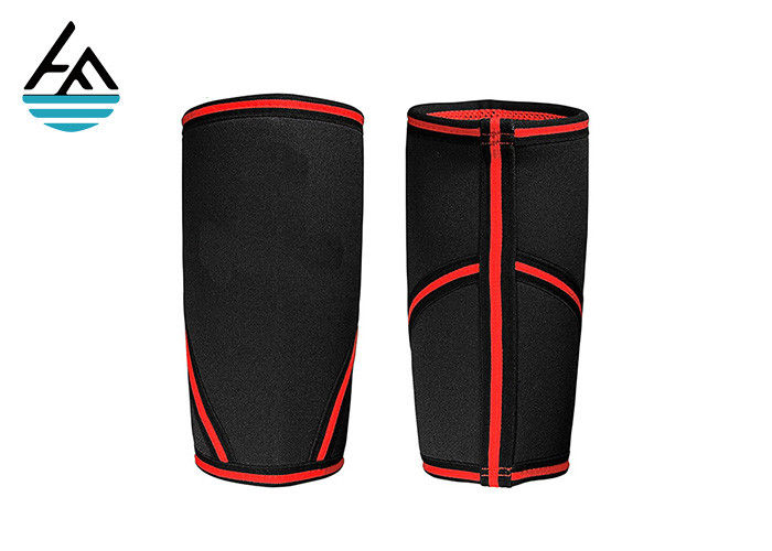 Stiff Neoprene Elbow Sleeve Elbow Support Basketball With Adjustable Velcro