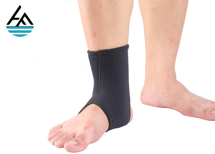 Velcro Neoprene Ankle Wrap Compression Ankle Braces And Supports